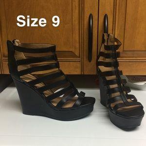 Charlotte Russe Tall Black Platform Heels